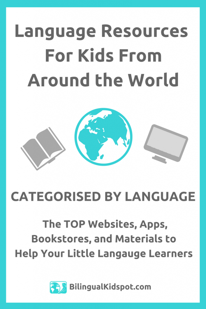 Language Resources for Kids from Around the World